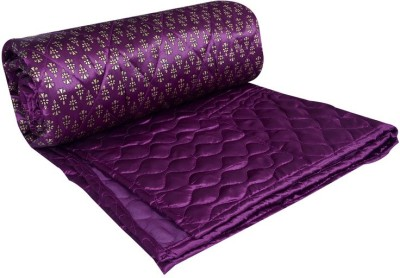 Rangasthali Abstract Double Quilts & Comforters Purple
