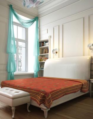 Needlecrest Floral Queen Quilts & Comforters Orange, Yellow