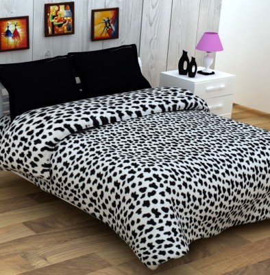 Enfin Homes Animal Double Blanket Black