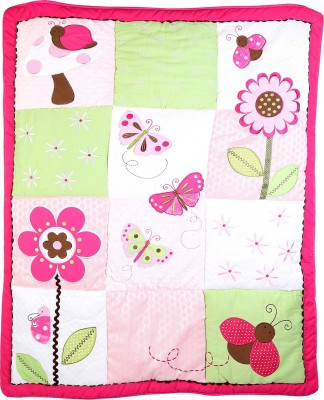 Baby Oodles Printed Single Quilts & Comforters Pink