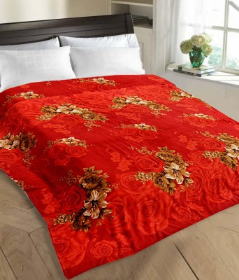 Tex n Craft Printed Double Blanket Red