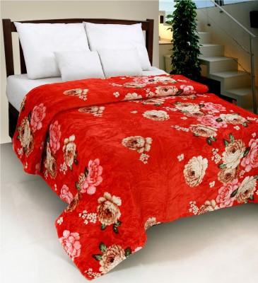 Surhome Floral Double Blanket Multicolor