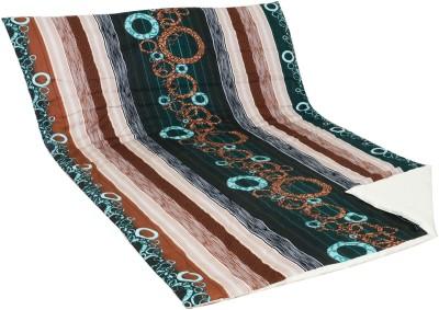 Aurraa Printed Single Quilts & Comforters Green