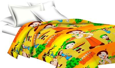 Shop Rajasthan Cartoon Single Dohar Multicolor