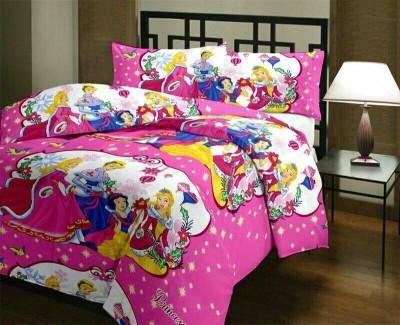 Anurang Cartoon Single Dohar Pink