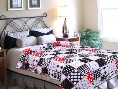 Elegance Geometric Single Quilts & Comforters Multicolor