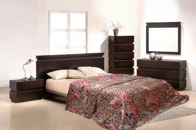 Wrap Floral Double Quilts & Comforters Brown