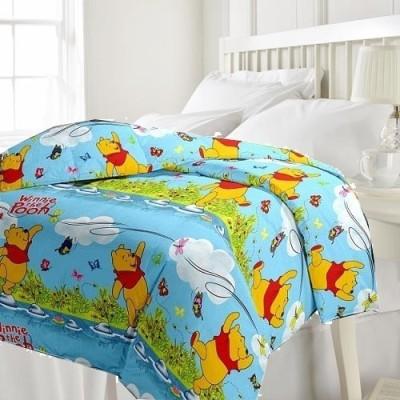 eCraftIndia Cartoon Single Blanket Multicolor