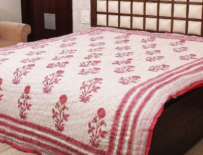 Jaipur Raga Floral Double Quilts & Comforters Multi-Color