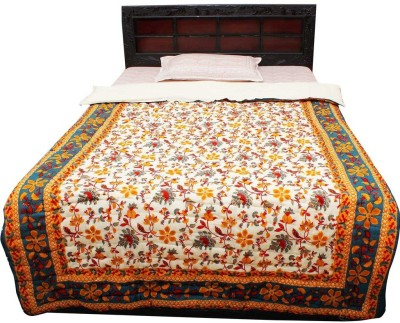Tradition India Floral Single Quilts & Comforters Multicolor