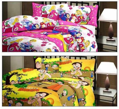 Ayushi Craft & Fashions Cartoon Single Blanket Multicolor
