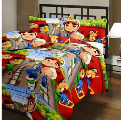 Gujattire Cartoon Single Quilts & Comforters Multicolor