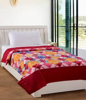 Divine Floral Double Blanket Multicolor