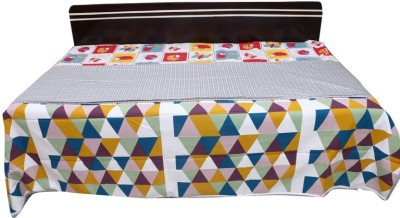venka home Striped Single Quilts & Comforters Yellow, Blue