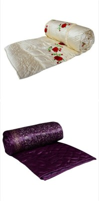 Rangsthali Embroidered Double Quilts & Comforters Multicolor
