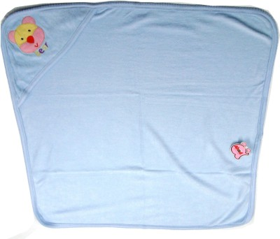 Ahad Plain Single Blanket Light Blue