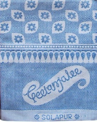 Geetanjalee Floral Single Top Sheet Blue