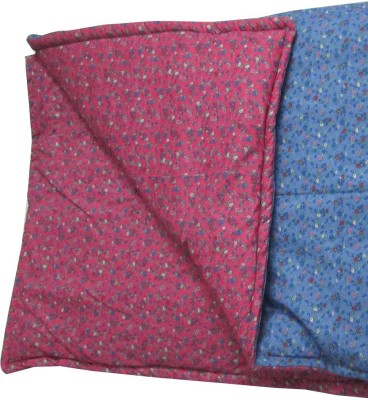Art-Tickles Floral Single Quilts & Comforters Blue, Pink
