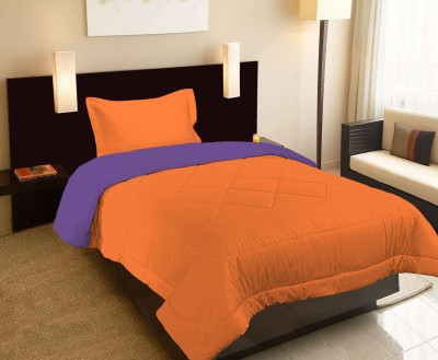 Raymond Home Abstract Single Quilts & Comforters Orange