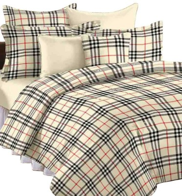 Renown Checkered Single Blanket Cream