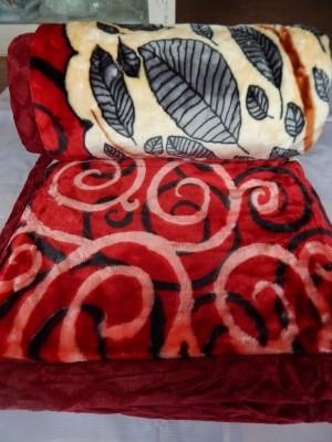 Tanushvi Home & Décor Floral Double Blanket Multicolor