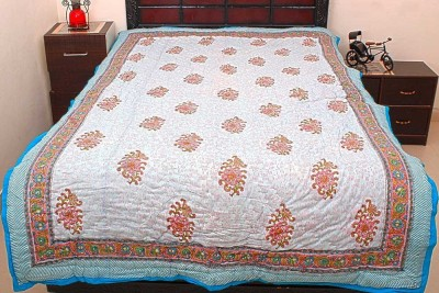 Jaipur Raga Floral Single Quilts & Comforters Multi-Color