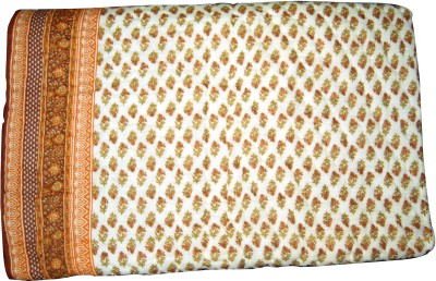 Total Furnishing Floral Double Quilts & Comforters Multicolor
