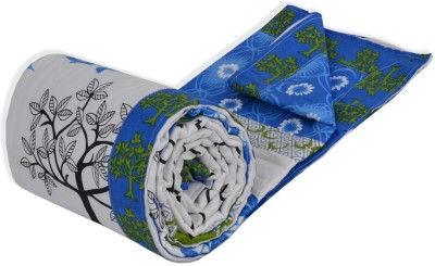 Salona Bichona Floral Single Dohar White