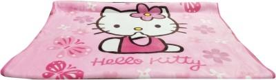 Portia Printed Crib Blanket Pink