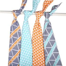 Bacati Geometric King Swadding Baby Blanket Multicolor