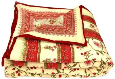 Pardhan Store Floral Single Quilts & Comforters Multicolor