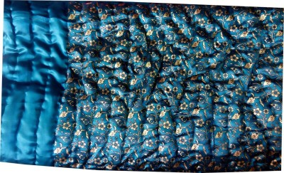 Cat Eye Export Floral Single Quilts & Comforters Blue