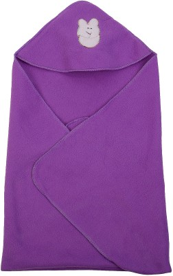 Utc Garments Plain Single Blanket Purple, Dark Purple, White