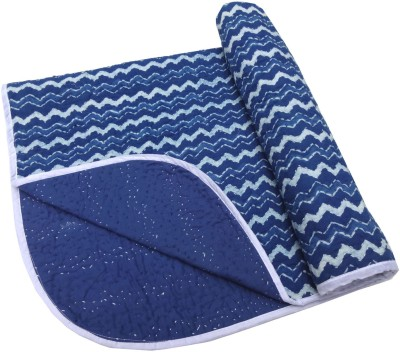 Kairan Jaipur Striped Crib Quilts & Comforters Blue