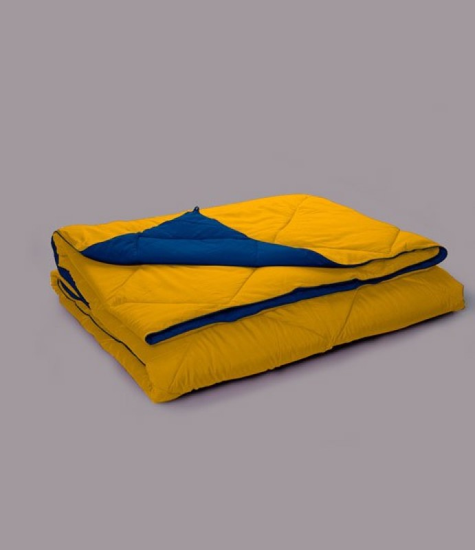 Stoa Paris Plain King Quilts & Comforters Yellow(1 Comforter)