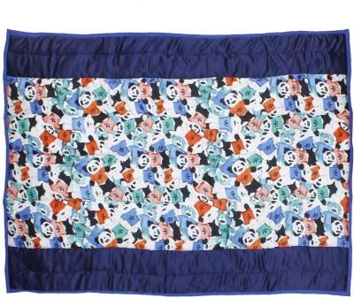 CocoBee Cartoon Crib Quilts & Comforters Multicolor