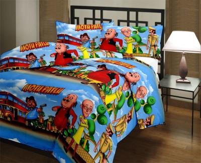 Stylla Shoppers Cartoon Single Dohar Multicolor