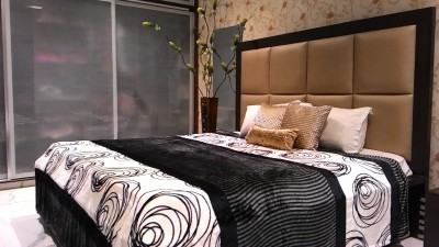Tima Abstract Double Blanket Black