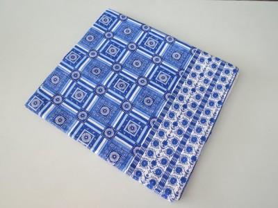 Deluxe Geometric Single Top Sheet Blue