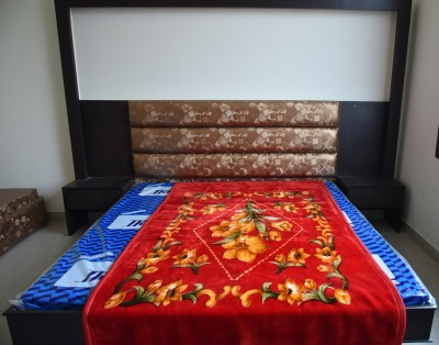 DHANI Printed Single Blanket Red
