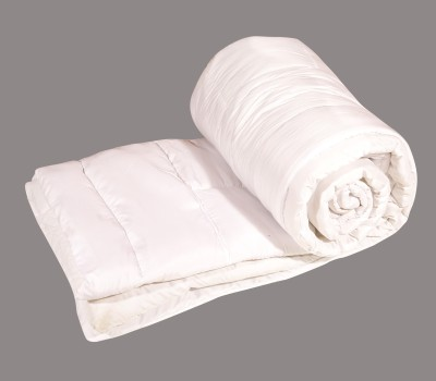 Ayushi Craft & Fashions Plain Double Quilts & Comforters White