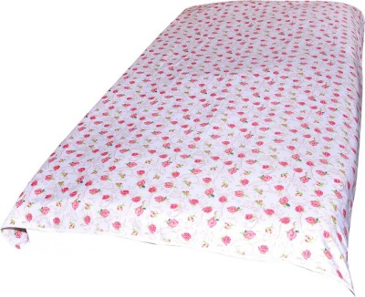 Animated&Florals Floral, Printed Single Dohar Pink, White