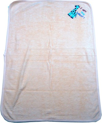 Ahad Plain Single Blanket Peach