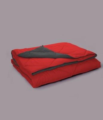 Stoa Paris Plain Single Quilts & Comforters Red