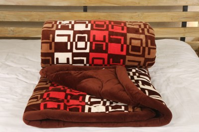 Adinath Abstract Double Quilts & Comforters Multicolor