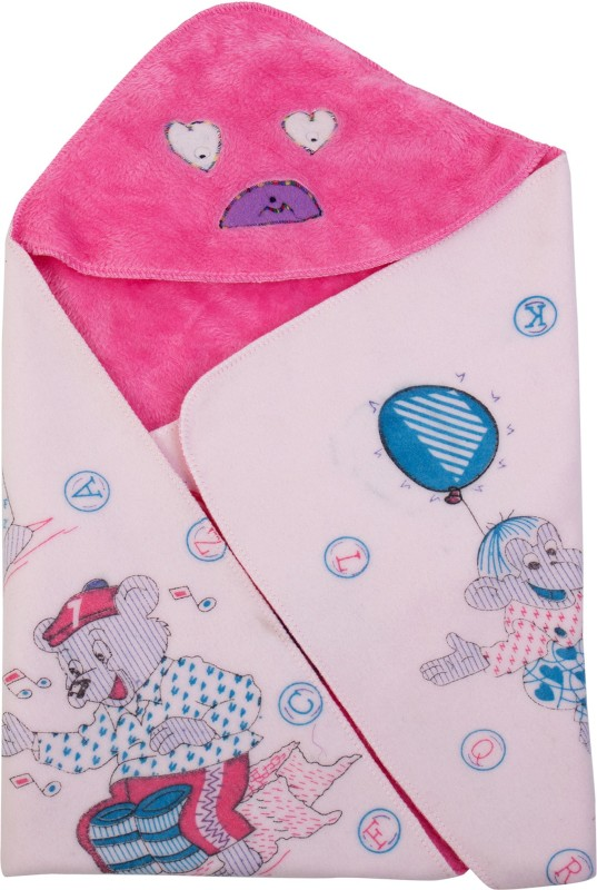 Utc Garments Cartoon Single Blanket Pink, Multicolor(1 Blanket)
