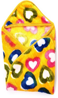 Casa Confort Floral Single Blanket Yellow