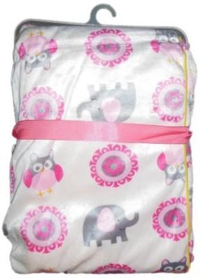 BornBabyKids Self Design Single Top Sheet Pink