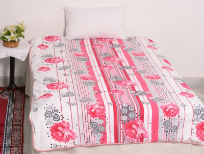 RajasthaniKart Floral Single Quilts & Comforters Multicolor