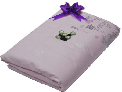 The Intellect Bazaar Abstract Double Quilts & Comforters Pink Rose